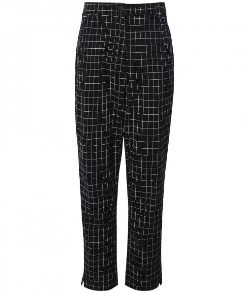 Rundholz Check Trousers