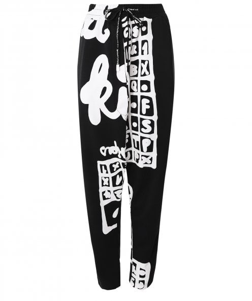 Rundholz Printed Stretch Trousers