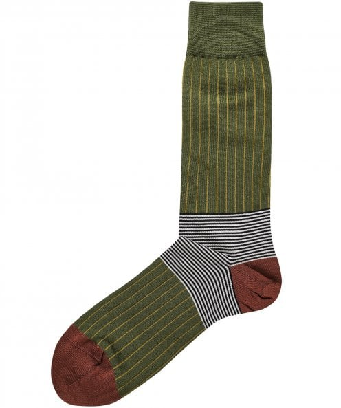 Peper Harow Oxford Stripe Socks