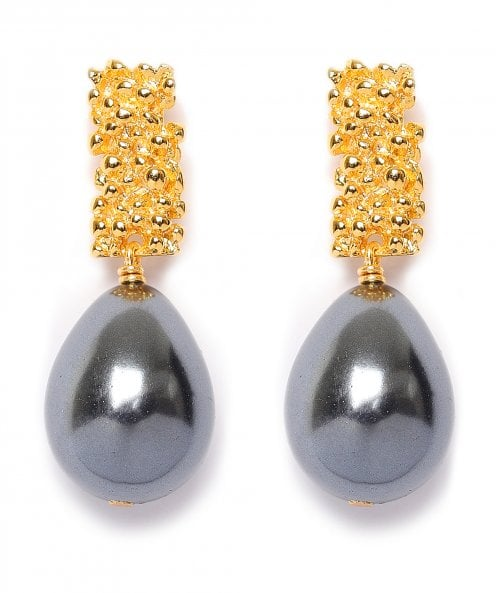 Uzurii Royal Pearl Earrings