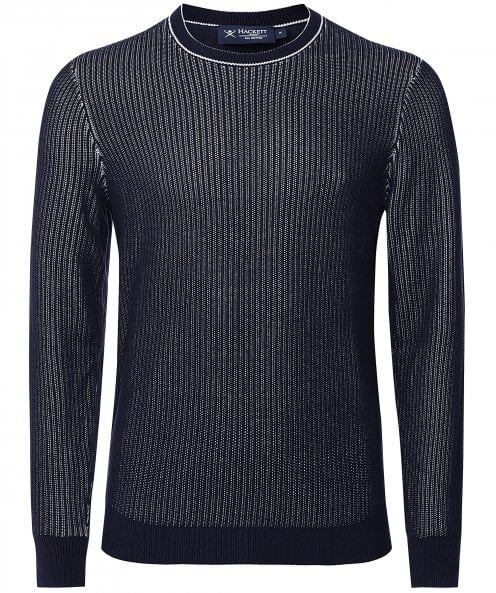 Hackett Cotton Plated Tipped Jumper