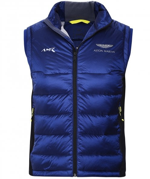 Hackett Down Quilted AMR Accelerator Gilet