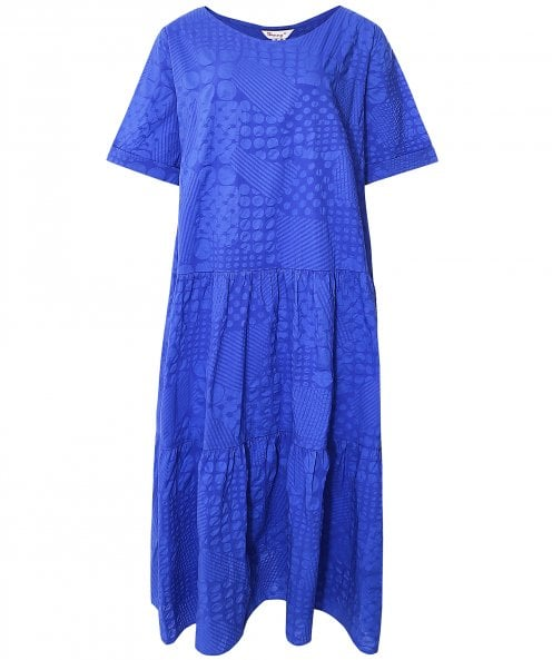 Thanny Tiered Patchwork Dress