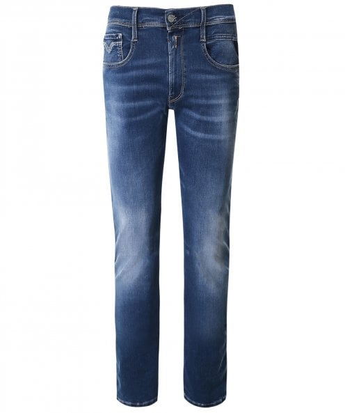 Replay Slim Fit Hyperflex Re-Used Anbass Jeans