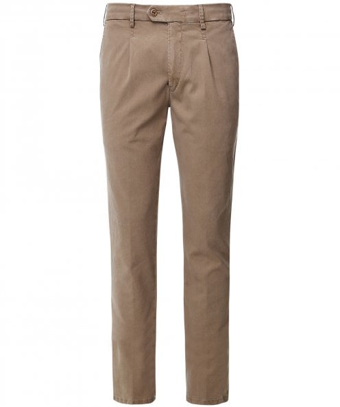 MMX Slim Fit Lyocell Cotton Leo Trousers