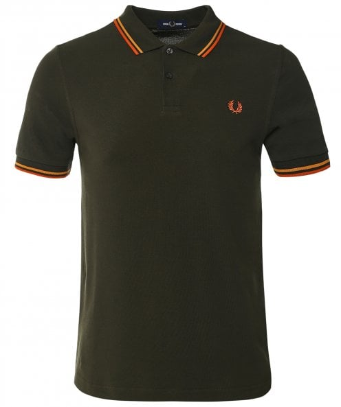 Fred Perry Twin Tipped Polo Shirt M3600 M85