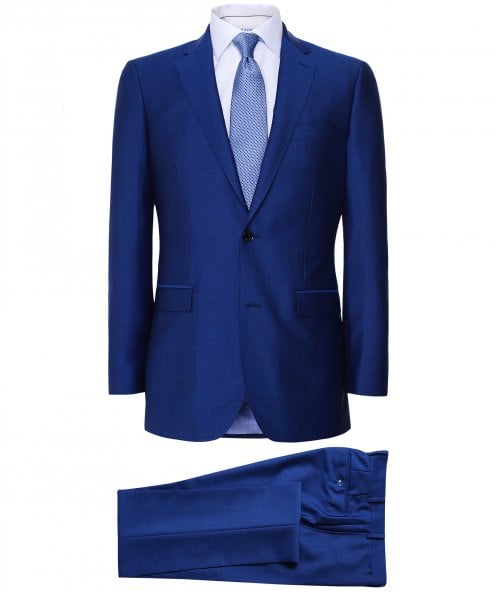 Jules B Wool Mohair Two Piece Suit