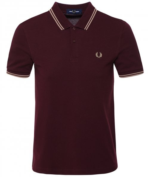 Fred Perry Twin Tipped Polo Shirt M3600 M88