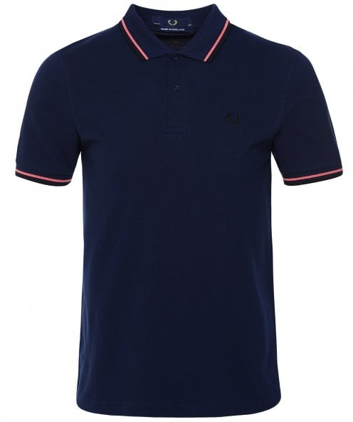 Fred Perry Twin Tipped Polo Shirt M12 E97