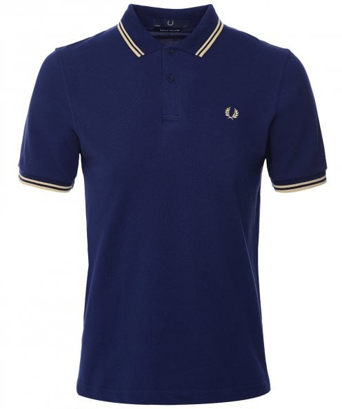 Fred Perry Twin Tipped Polo Shirt M12 469
