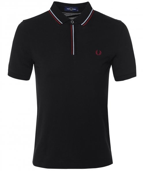 Fred Perry Tipped Placket Polo Shirt M8559 220