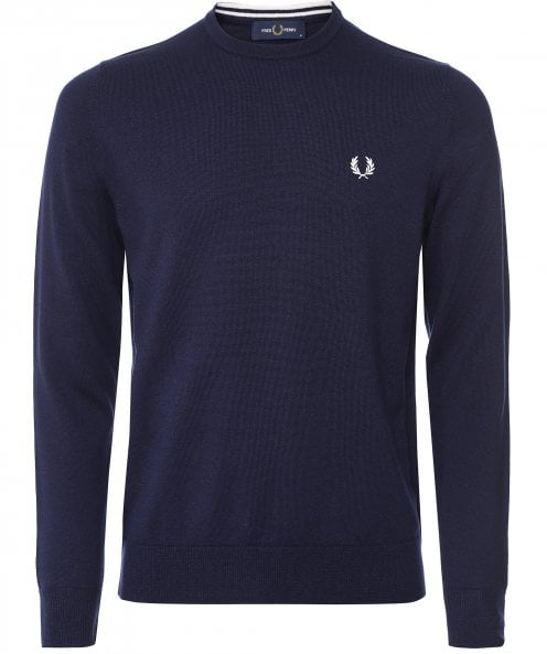 Fred Perry Classic Crew Neck Jumper K9601 608