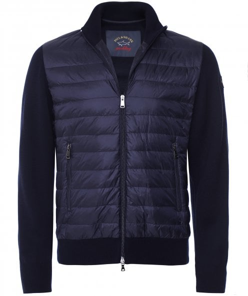 Paul and Shark Down Quilted Hybrid Jacket