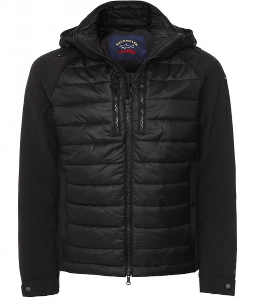 Paul and Shark Baffle Quilted Hybrid Jacket
