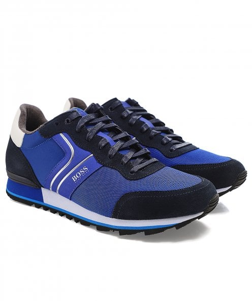 BOSS Leather Parkour_Runn_nymx2 Trainers