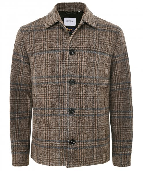 Les Deux Wool Prince of Wales Check Marseille Jacket