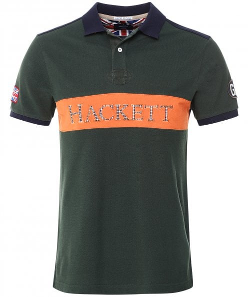 Hackett Limited Edition Chest Panel Polo Shirt