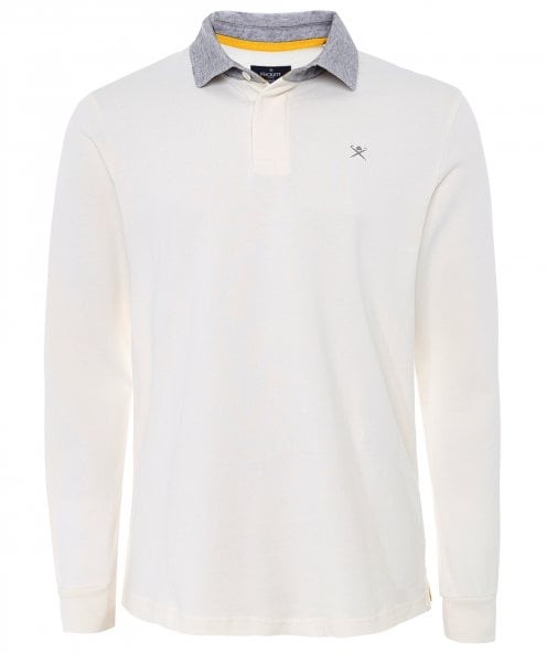 Hackett Slim Fit Brushed Cotton Rugby Shirt