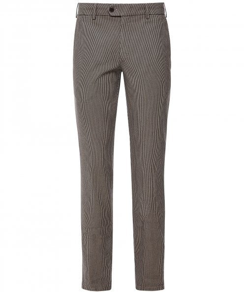MMX Slim Fit Houndstooth Lupus Trousers