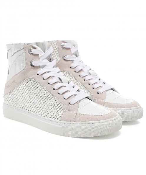 Zadig & Voltaire ZV1747 High-Top Trainers