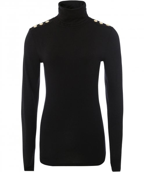 Holland Cooper Long Sleeve Roll Neck Top