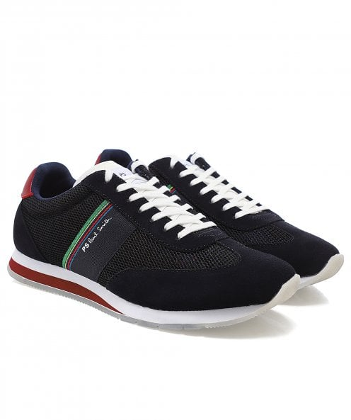 Paul Smith Suede Trim Mesh Prince Trainers