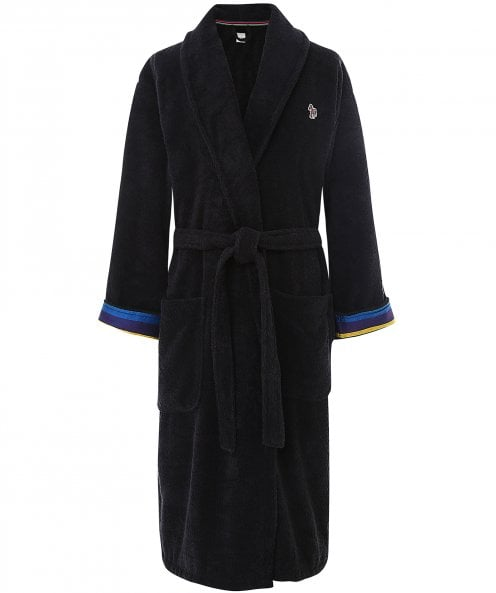 Paul Smith Cotton Towelling Zebra Dressing Gown