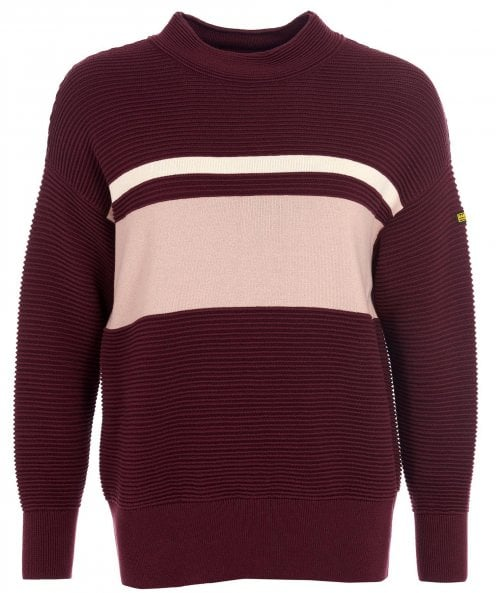 Barbour International Chicane Cotton Knitted Jumper