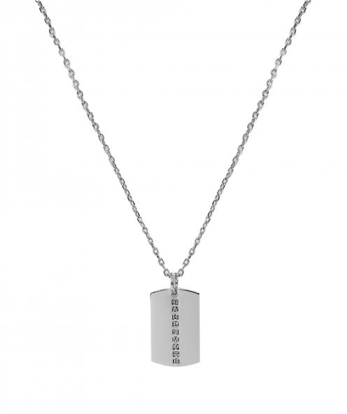 Paul Smith Dog Tag Necklace