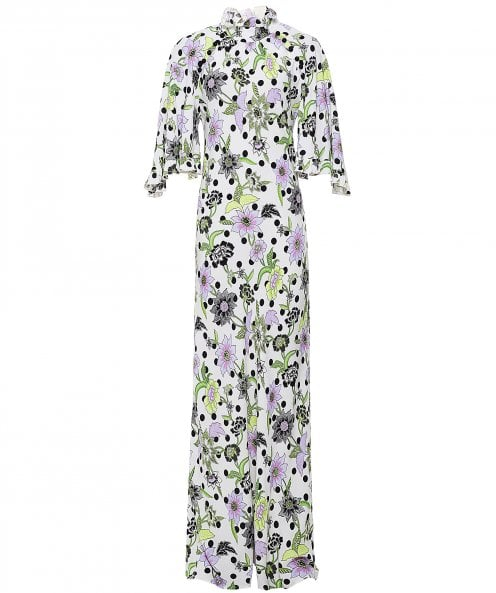 Hayley Menzies Florence Crepe Maxi Dress