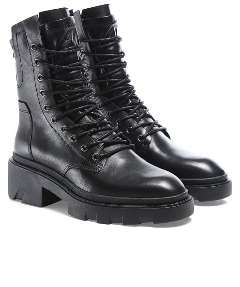 Ash Madness Mustang Leather Boots