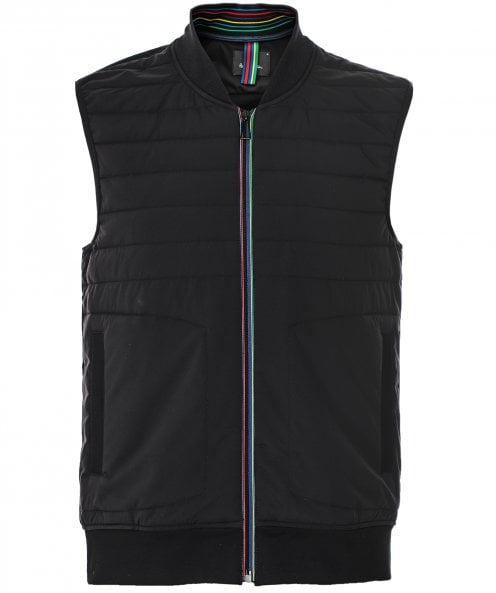 Paul Smith Water-Resistant Mixed Media Gilet