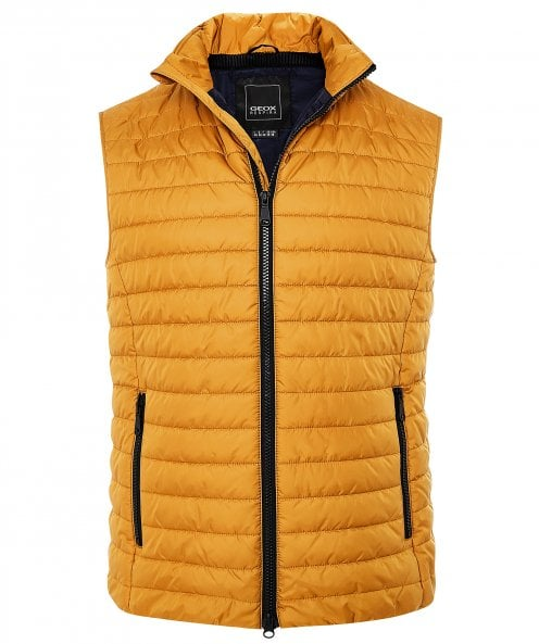 Geox Water-Repellent Quilted M Wilmer Gilet