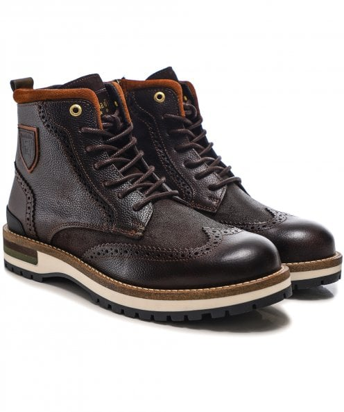 Pantofola d'Oro Leather Tocchetto Boots