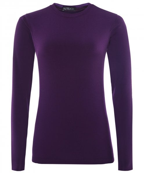 NU London Round Neck Long Sleeve Top