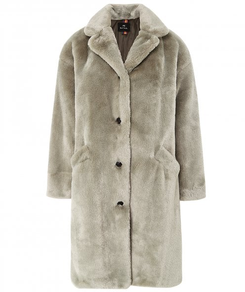 Paul Smith Recycled Faux Fur Coat