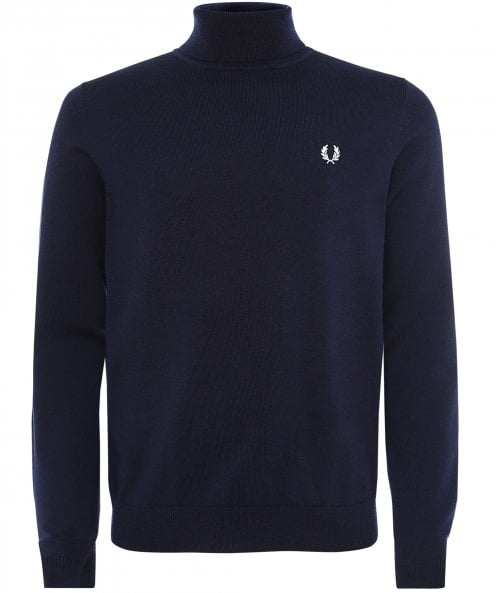 Fred Perry Wool Cotton Roll Neck Jumper K9552 608