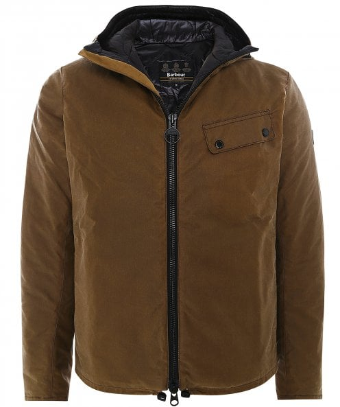 Barbour International Waxed Vision Jacket