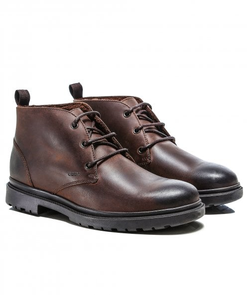 Geox Leather Andalo Boots