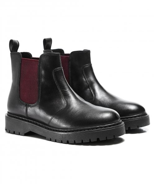 Geox Bleyze Leather Chelsea Boots
