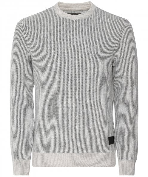Barbour Wool Cotton Duffle Knitted Jumper