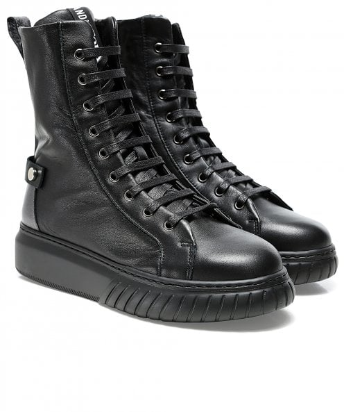 Andia Fora Seilor Hidden Wedge Leather Boots