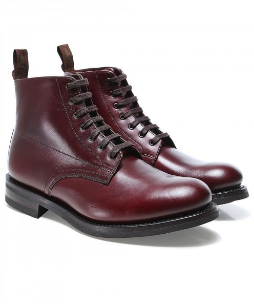 Loake Leather Hebden Derby Boots