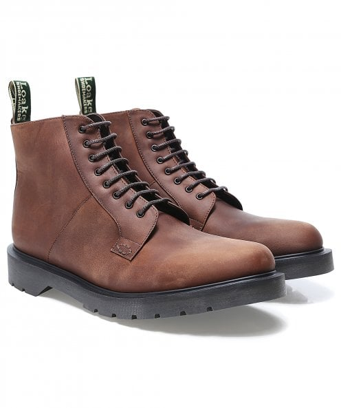 Loake Leather Niro Derby Boots