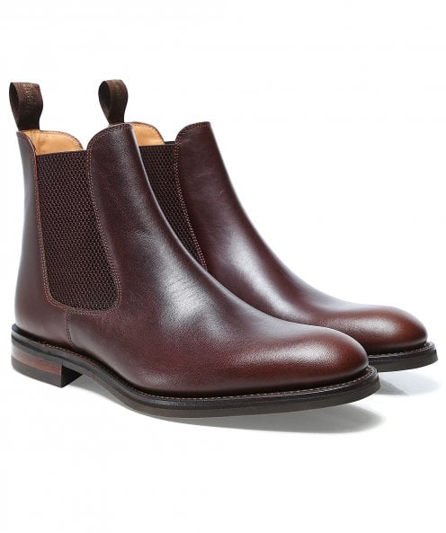 Loake Leather Buscot Chelsea Boots