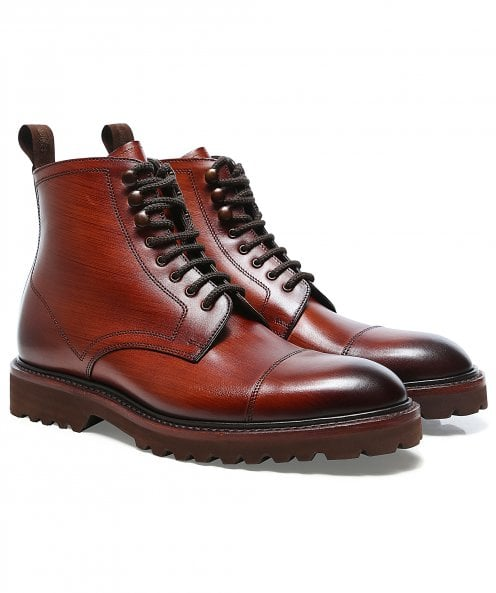 Loake Leather Reynolds Derby Boots