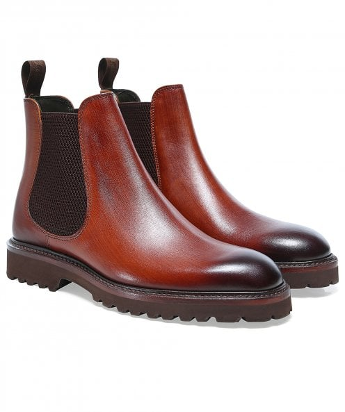 Loake Leather Huxley Chelsea Boots