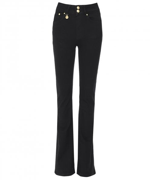 Holland Cooper High Rise Flared Jeans
