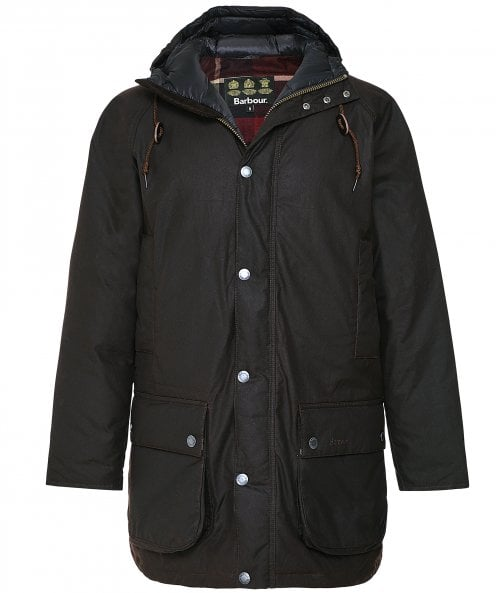 Barbour Waxed Hooded Beaufort Jacket