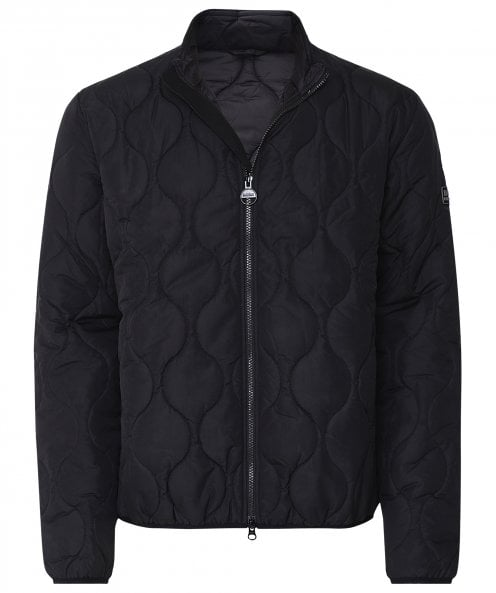 Barbour International Quilted Accelerator Race Jacket
